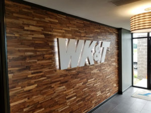 WK&T Sign Logo
